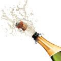 Kihisev ja rõõmus vein Champagne
